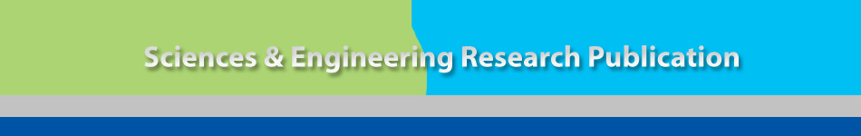 Sciences & Engineering Research Publication
